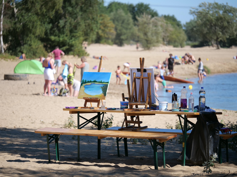 Strandschilderen-door-Majeed-Saeeyan-StrandSafari-XPOZRS-Artphotography-fotograaf-Leo-van-Heijningen